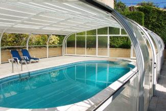 alquezar, apartamento con piscina
