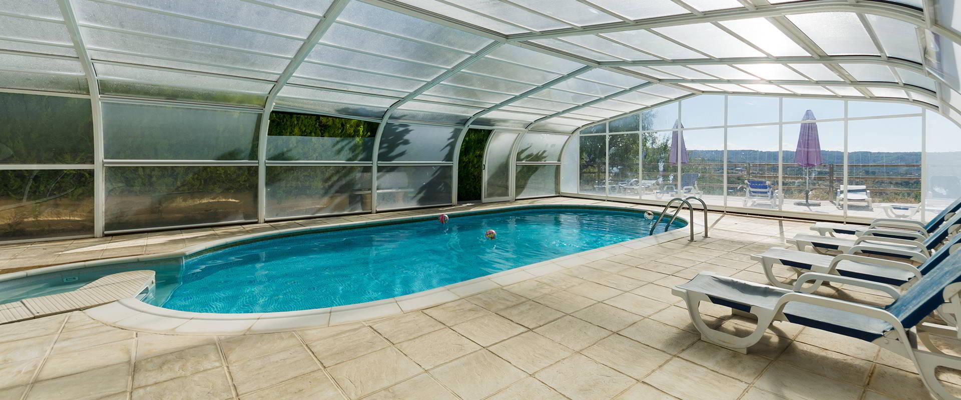 piscina apartamentos sierra de guara