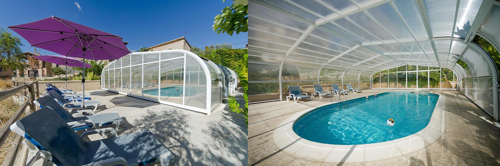 Casa rural alquezar piscina